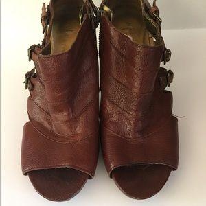 Nine West leather heels.